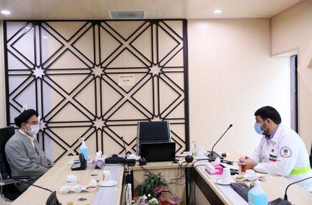 <div class='entry-second_title'>طی دیدار حجتالاسلام خاموشی و کولیوند انجام شد؛</div>دستور رئیس سازمان اوقاف برای استفاده از ظرفیتهای وقف در طرح مدیریت کرونا