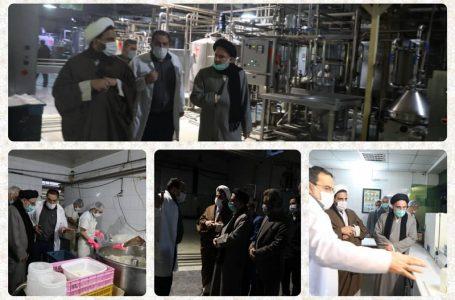 بازدید رئیس سازمان اوقاف از ۳ پروژه سرمایه گذاری موقوفات در مشهد