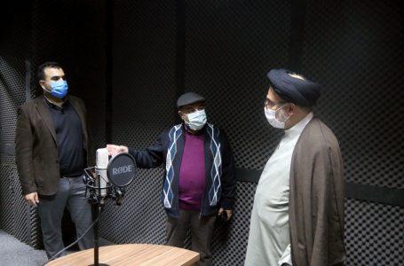 گزارش تصویری افتتاح استودیو «رسامدیا» و بازدید دکترخاموشی از مرکز اسناد