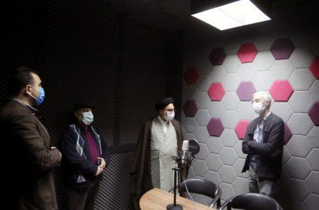 افتتاح استودیو «رسامدیا» روابط عمومی سازمان اوقاف/ بازدید رئیس سازمان اوقاف از مرکز اسناد